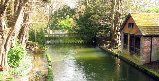 Green Man Heritage - Tours: Boat house, St John the Baptist, Ayleswade
