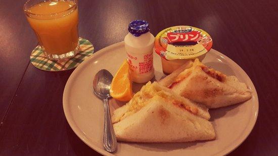 Imazato Guest House: 朝ごはんおいしかったです♥맛있었어요!!