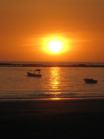 Hotel Villas Playa Samara: Sunset