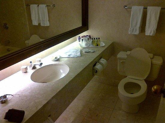 InterContinental Toronto Centre : spacious bathroom