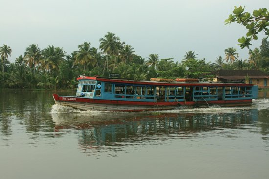 Kurialacherry House : government boat