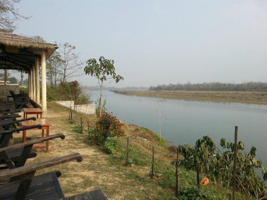 Wildlife Adventure Resort : view from riverside bar