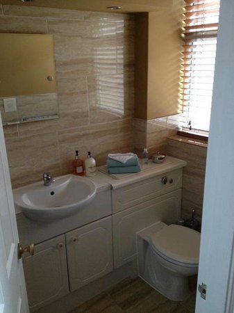 Brentwood Guest House: The bathrooms are clean and stylish