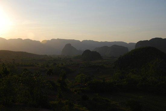 Valle de Vinales : Valle de Viñales - View from paladar