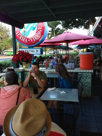 Kihei Caffe: Outdoor seating