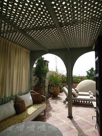 Riad Kniza: la terrazza sul tetto