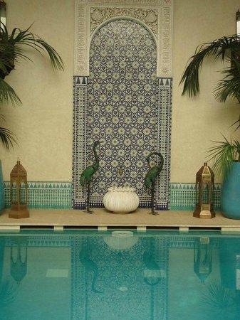 Riad Kniza: alla piscina