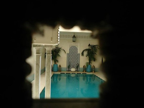 Riad Kniza: la piscina