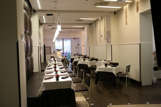 Eurostars International Palace : Salle à manger du restaurant
