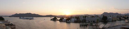 Jaiwana Haveli : Sun-set view
