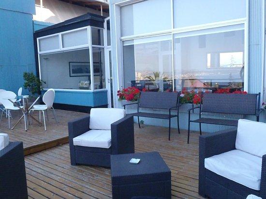Ultramar Hotel : Terrasse