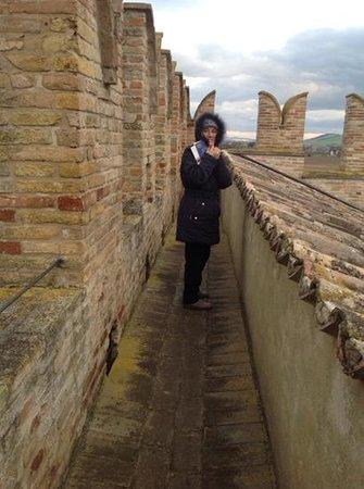 Castello della Rancia : Camminamento