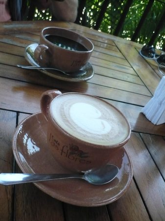 Cafe Las Flores: Good coffee