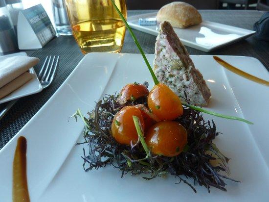 Carnac Thalasso & Spa Resort Hôtel : terrine de canard