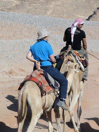 See Jordan Tours - Camel Ride in Wadi Rum: camel Tour