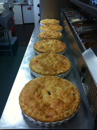 Halfway House Restaurant: weeks supply of homemade steak pie