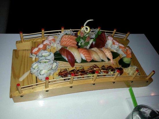Wasabi Sushi Lounge: Love Boat For 2