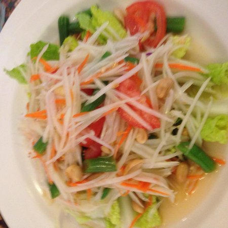 Thai Rada Restaurant: Papaya salad