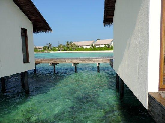 The Residence Maldives : Les bungalows sur pilotis