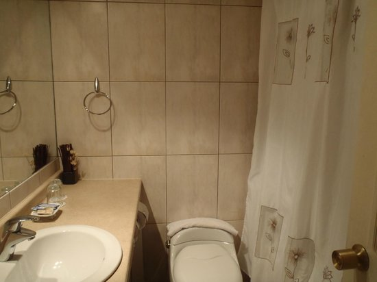 Hotel Carpa Manzano: salle de bain