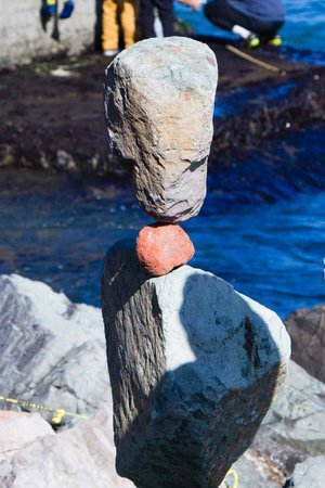 Bill Dan Balancing Rocks: Rock Balancing