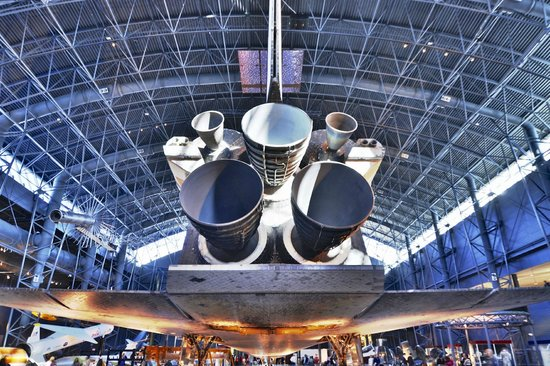 Smithsonian National Air and Space Museum Steven F. Udvar-Hazy Center: Discovery engines
