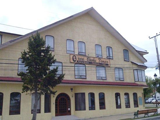 Charles Darwin Hotel: facade