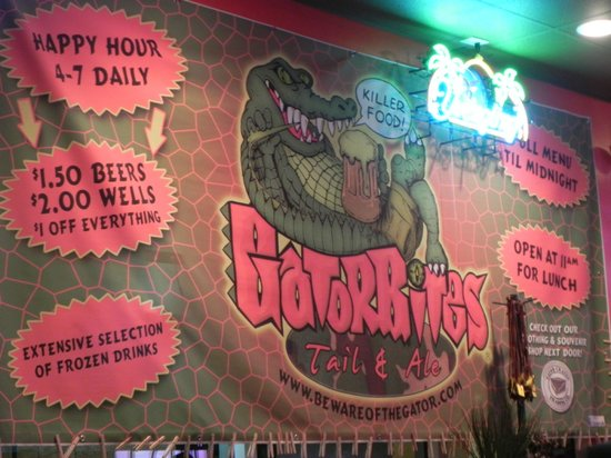 Gatorbites: A fun place to eat.