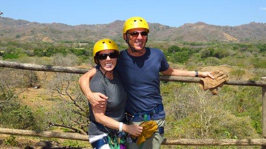 Go Adventures Traveling Costa Rica: Ready to zip!