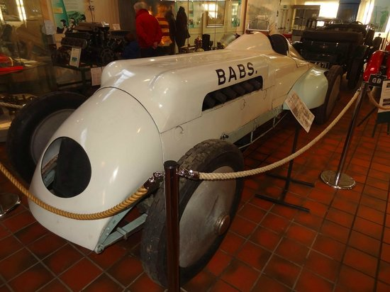 Brooklands Museum: Babs - one of the most famous record breakers of her time