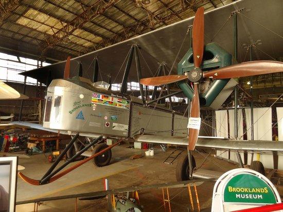Brooklands Museum: The Vickers 'Brooklands' Vimy flying replica