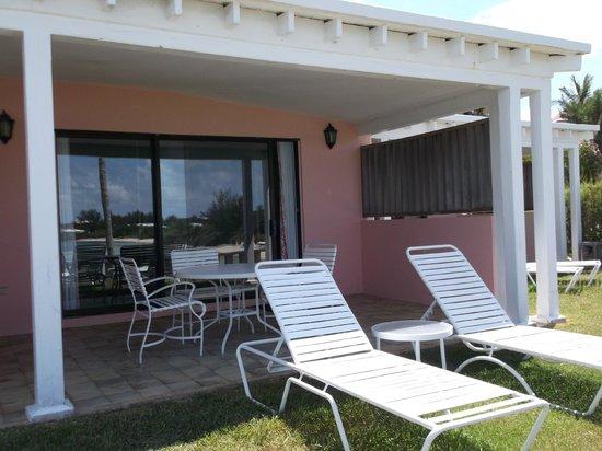 Cambridge Beaches : our verandah
