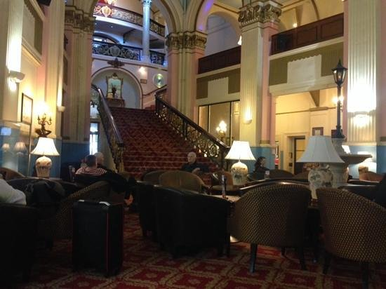 Grand Hotel Scarborough: the foyer is nice