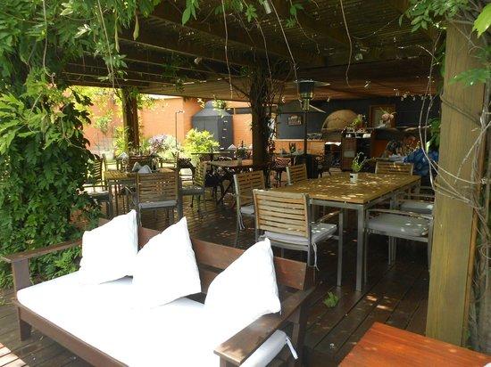 Barradas Parque Hotel & Spa : Otra vista de la hermosa glorieta