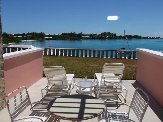 Cambridge Beaches : verandah