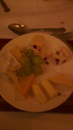 The Crown Hotel: cheeses