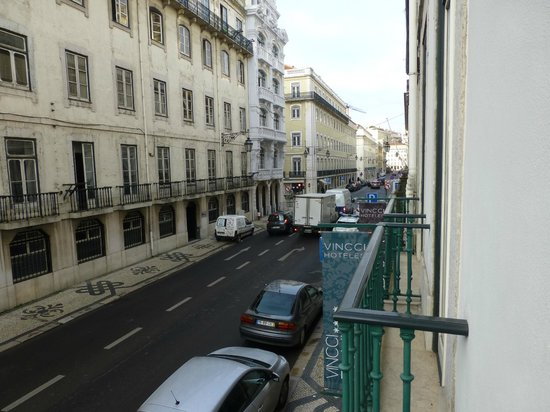Vincci Baixa: Balcony view