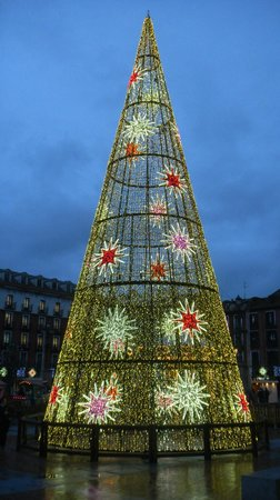 Plaza Mayor de Valladolid: елка