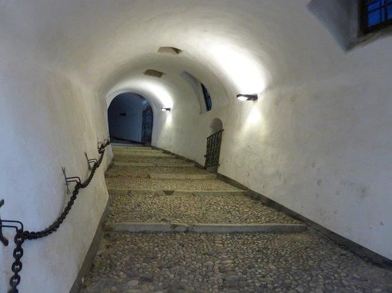 Museo Storico Italiano della Guerra: Tunnel Under the Castle leading to the Museum