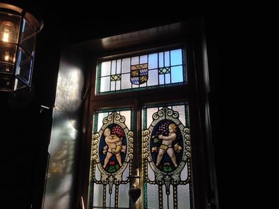 Restaurant Friedrich: Windows in cafe area