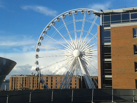 Staybridge Suites Liverpool: Worth a ride!