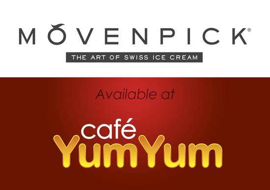 Cafe YumYum: Movenpick available in over 10 delicious flavours.
