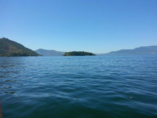 Pousada Cruzoé: Vista en camino a la Isla