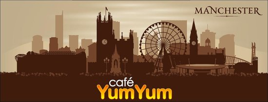 Cafe YumYum, in the heart of Manchester City centre.