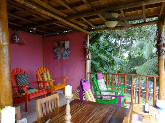 Free Spirit Oasis: Terrasse commune
