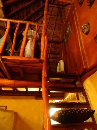 Free Spirit Oasis: chambre 2 en mezzanine