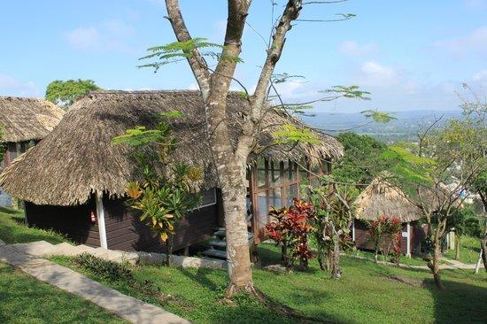 Cahal Pech Village Resort: One of the cabanas.