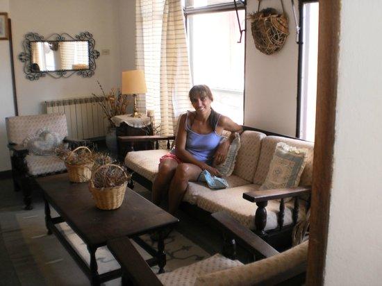 Hosteria Plaza: Rincon del segund piso: tranquilidad
