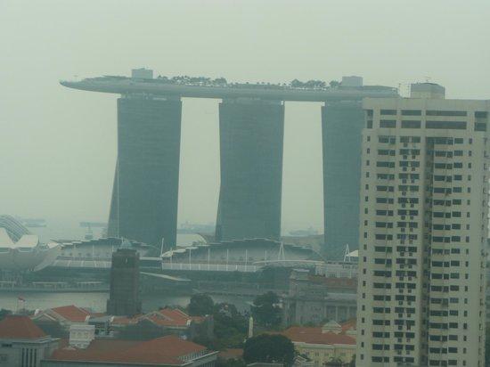 Novotel Singapore Clarke Quay : Vue de la chambre