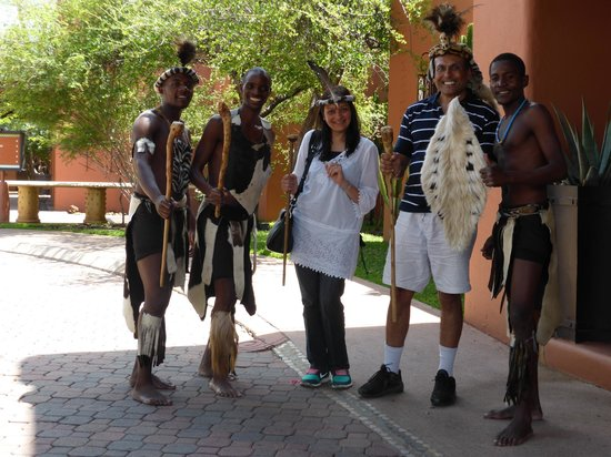 AVANI Victoria Falls Resort: our welcome at the hotel